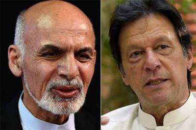 PM Imran Khan telephoned Afghan President Ashraf Ghani