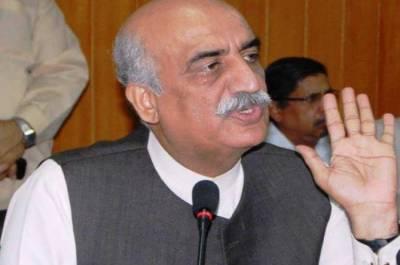 Former Opposition leader Khursheed Shah house raided by NAB