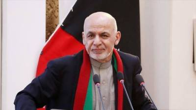 Afghan President Ashraf Ghani makes an appeal to the Afghan Taliban