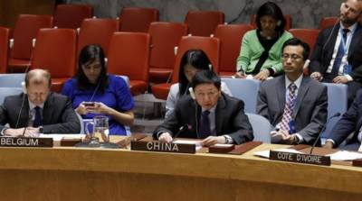 China gives a blow to the Israel at the UN Security Council
