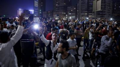 Massive protests erupt in Tehrir Square and across Egypt against President al Sisi