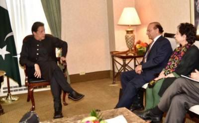 PM Imran Khan holds important meeting with Kahsmir Study Group founder Farooq Kathwari