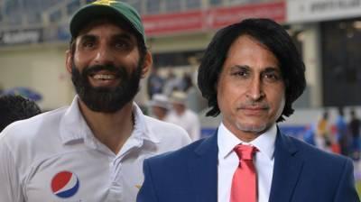 Ramiz Raja shows disappointment over head coach Misbah ul Huq