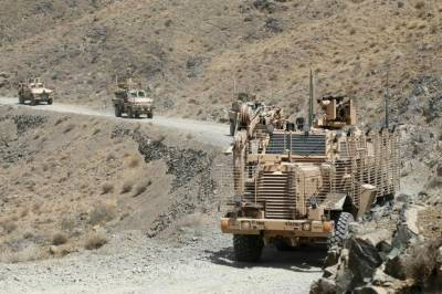 US Military Convoy comes under Taliban attack, Foreign troops casualties reported