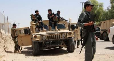 Afghan Taliban destroy Afghanistan regional Police Headquarters after taking over new district
