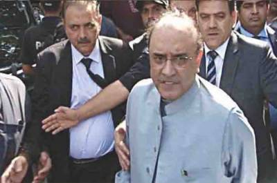 Former President Asif Zardari gets a blow from the Accountability Court