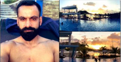 Mohammad Hafeez brutally trolled for his shirtless shot