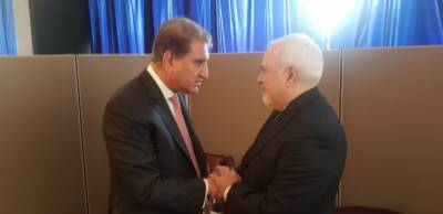 Pakistan FM Shah Mehmood Qureshi held important meeting with Iranian FM Javed Zarif