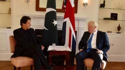 PM Imran Khan held important meeting with British PM Boris Johnson