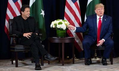 Official statement of White House over PM Imran Khan and President Donald Trump meeting