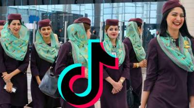 (VIDEO): PIA Administration grounds two Air Hostesses over viral TikTok Video, served show cause notices