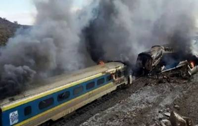 Five killed and scores injured in passenger train derailment