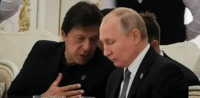 Pakistan PM Imran Khan makes offer to Russian President Vladimir Putin