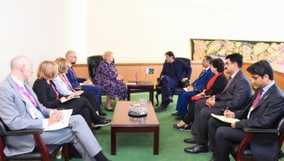 PM Imran Khan met his Norwegian counterpart, wide range of issues discussed