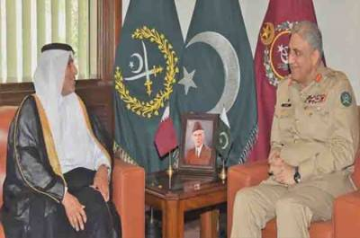Prince of Qatar held important meeting with Pakistan Army Chief at GHQ