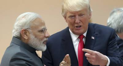 US President Trump questions Indian PM Modi over Occupied Kashmir crisis