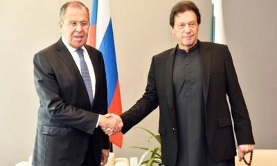 Close background contact between Pakistan and Russia unfold