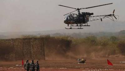 Indian Military helicopter crashed, Colonel and a Major Killed