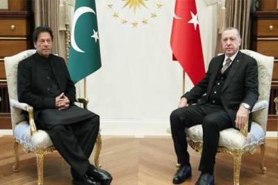 Turkish President Tayyip Erdogan accepts Pakistan PM Imran Khan's offer