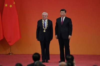 Chinese President Xi Jinping awarded medals and honorary titles to array of domestic and international heroes