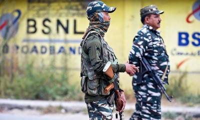 Indian Military martyrs four Kashmiri youth in fake encounter