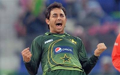 Pakistan's legendry spinner Saeed Ajmal throws a challenge to the Pakistan Cricket Board