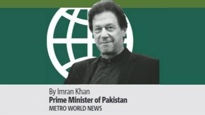 Pakistani PM Imran Khan article in US based daily Metro New York