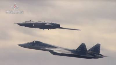 Russia unveils fifth generation stealth drone