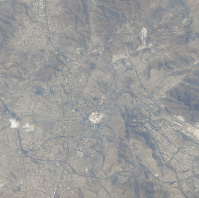 First ever Arab Astronaut shares pictures of holy kaaba from the space