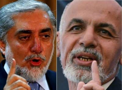 Afghan President Ghani and CEO Abdullah Abdullah clash with each other