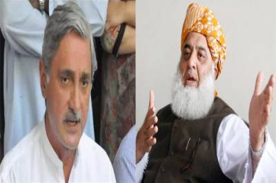 Jehangir Khan Tareen makes entry against FazalRehman Azadi March