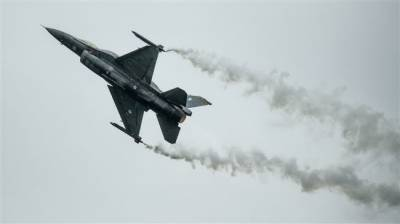 American Military fighter jet crashed