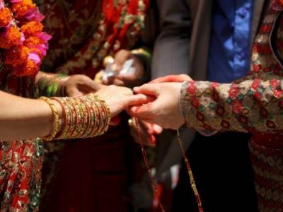 Foreign woman comes to Pakistan to marry her Facebook friend