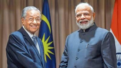 Malaysian PM Mahatir Mohammad exposed Indian PM Narendra Modi bluff