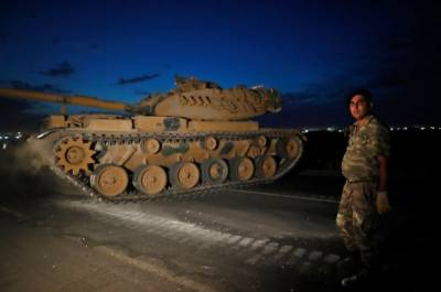 Operation Peace Spring: Huge blasts heard at Turkish Syrian borders