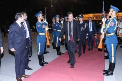 PM Imran Khan heads back to Pakistan amid guard of honour at Beijing International Airport