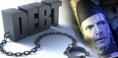 PTI government took record public debt of Rs 7,500 billion in first year?