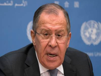 Russian Foreign Minister Sergei Lavrov hits out at United States