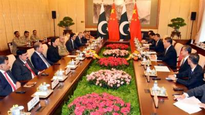 Pakistan and China reaffirm the strategic ties in all spheres