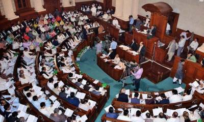 61 MPAs of Punjab Assembly belonging to PML N submit their resignations