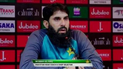 Frustrated Misbah lash out with sarcastic replies to Journalists after disgraceful defeat from Srilanka