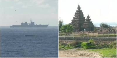 Indian Navy and Coast Guards have deployed Warships
