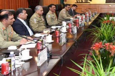 Pakistan Army Chief held important meeting with Chinese PLA Admiral