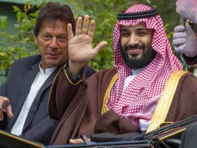 Did Saudi Crown Prince MBS give a letter to Pakistani PM Khan for Iranian President Hasan Rouhani?