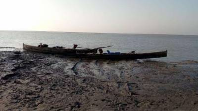 Indian BSF seized five Pakistani boats in creek area at Indo Pak border