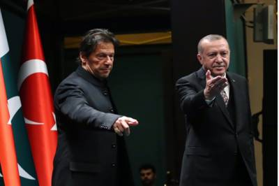Pakistan Prime Minister's offer to the Turkish President Tayyip Erdogan