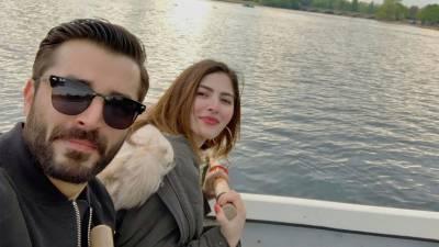 Top Actor Hamza Ali Abbasi has some surprise announcement to make