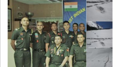 Indian Paramilitary expedition team hit by a massive avalanche, casualties reported