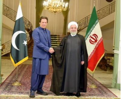 Pakistan PM Khan and Iranian President Rouhani hold important joint press conference