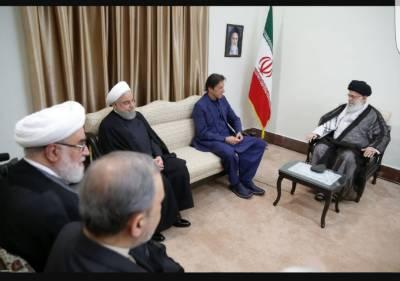 PM Imran Khan held important meeting with Iranian Supreme Commander Khamenei in Tehran